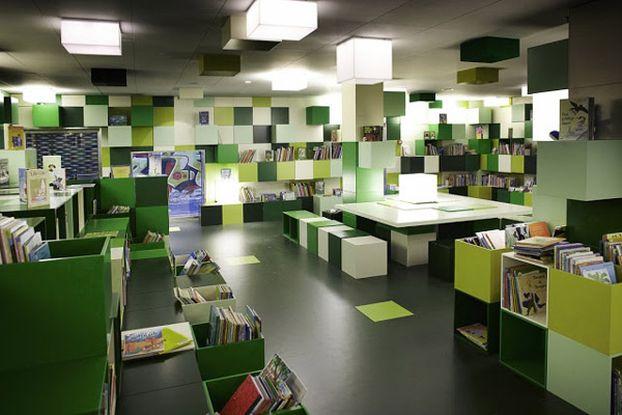 Biblioteka, czyli komfortowe warunki spędzania czasu z książką
