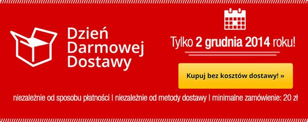 TaniaKsiazka.pl wysyła zamówienia za 2 grudnia za 0 zł!