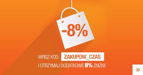 Odbierz 8% zniżki