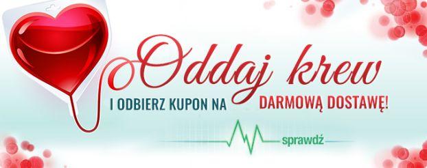 TaniaKsiazka.pl ponownie zachęca do oddawania krwi!