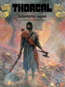 Thorgal, tom 35. Szkarłatny ogień