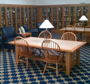 usi-rice-library-special-books-room