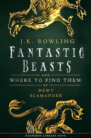 Książka Fantastyczne zwierzęta i jak je znaleźć