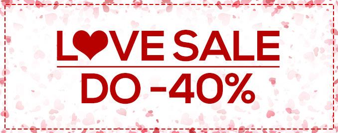 Love Sale do -40%