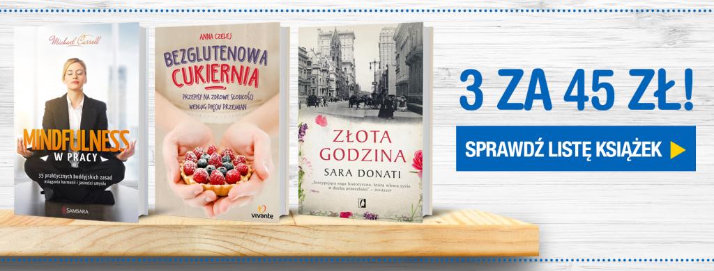 3 książki za 45 zł