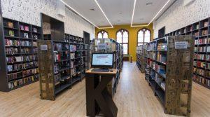 Biblioteka na dworcu wrocławskim