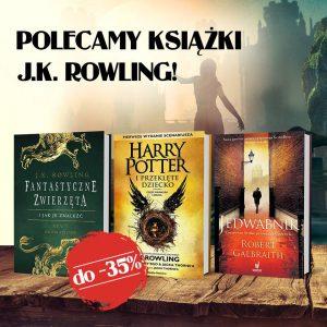 Książki J.K. Rowling w promocji