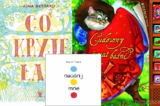 Książki interaktywne dla dzieci - sprawdź na TaniaKsiążka.pl!