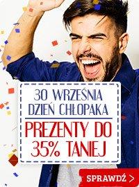Dzień chłopaka. Prezenty do 35% taniej - sprawdź na TaniaKsiazka.pl!