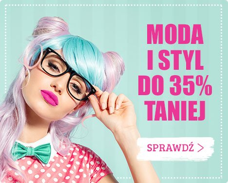 Moda i styl do 35% taniej - sprawdź an taniaKsiazka.pl!