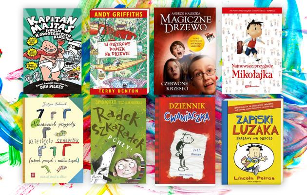 Książki dla dzieci w wieku szkolnym