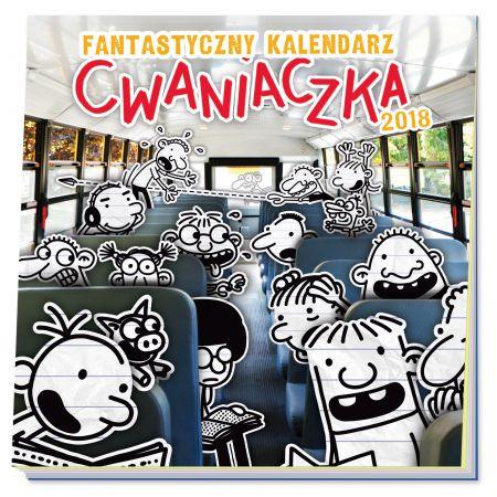 Fantastyczny kalendarz cwaniaczka 2018 - zobacz na TaniaKsiazka.pl!
