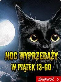 Noc Wyprzedaży w piątek 13-ego - sprawdź na TaniaKsiazka.pl!