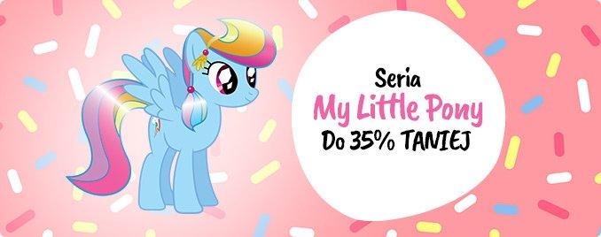 Seria My little pony do 35% taniej! Sprawdź na TaniaKsiazka.pl!