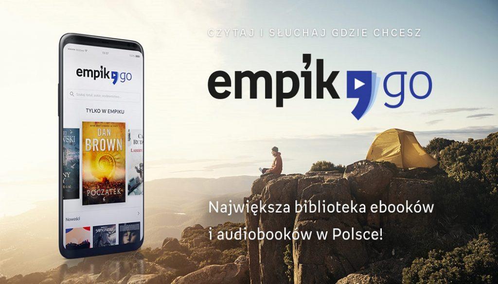 Ruszyła nowa aplikacja, EmpikGo