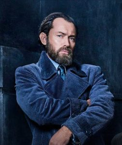 Jude Law jako Dumbledore