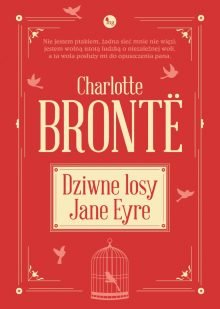Dziwne losy Jane Eyre Charlotte Brontë okładka książki
