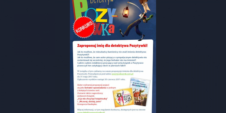 Detektyw Pozytywka Grzegorza