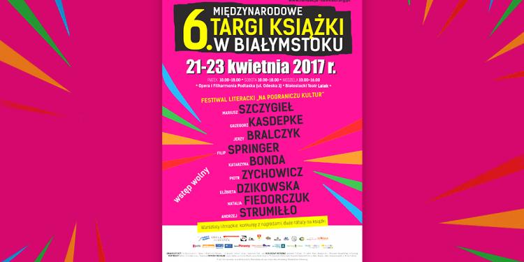 Program targów książki w Białymstoku 2017