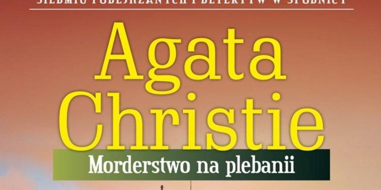Morderstwo na plebanii - sprawdź na TaniaKsiazka.pl