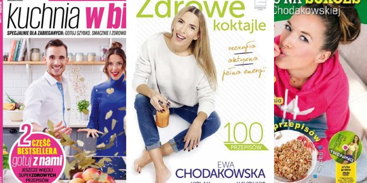 3 ksiazki Ewy Chodakowskiej