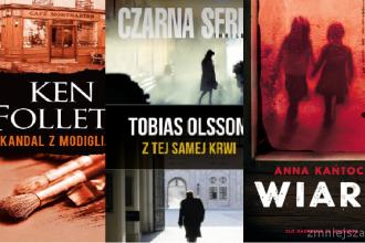 Nowości książkowe, 2017: sensacja i kryminał