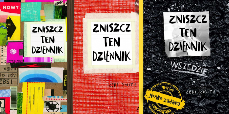 Keri Smith, seria Zniszcz ten dziennik - sprawdź na TaniaKsiążka.pl