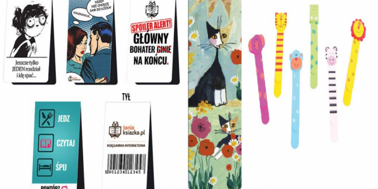 Zakładki do książek - sprawdź na TaniaKsiążka.pl