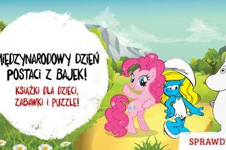 Promocja na książki, puzzle i zabawki - sprawdź na TaniaKsiazka.pl