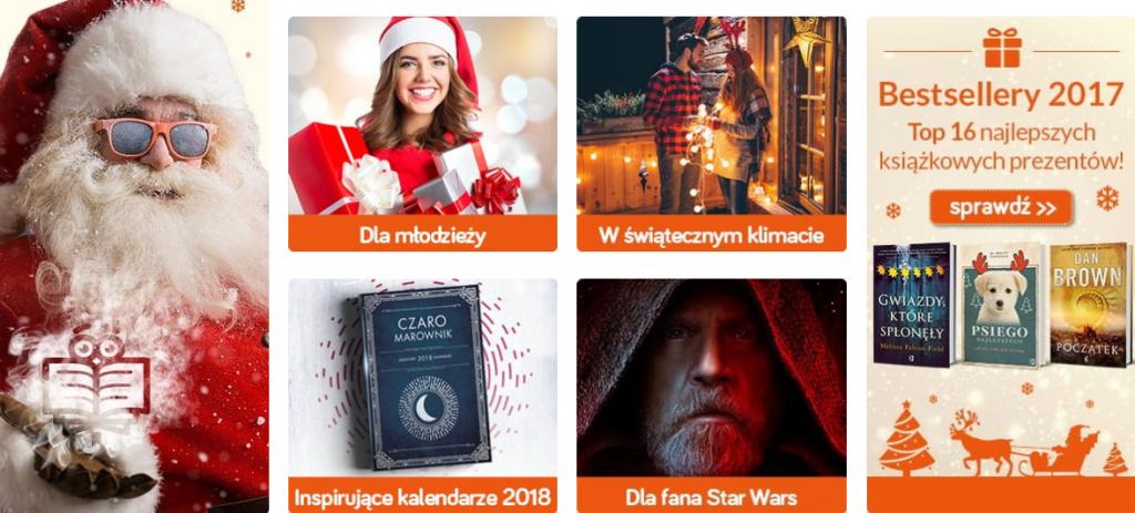 Prezenty świąteczne - kup na TaniaKsiazka.pl