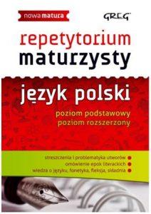 Repetytorium maturzysty - język polski - kup na TaniaKsiazka.pl