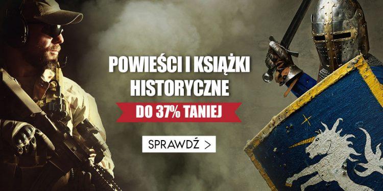 Promocja na książki historyczne
