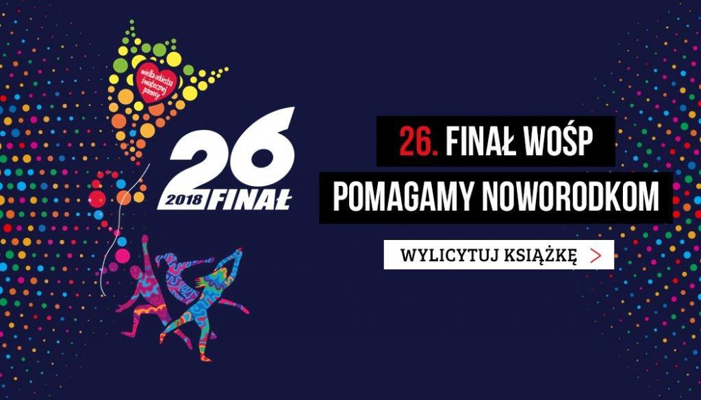 AUKCJE WOŚP 2018 - licytacje TaniaKsiazka.pl