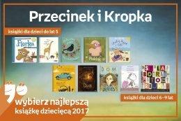 Najlepsze książki dziecięce 2017. Przecinek i Kropka