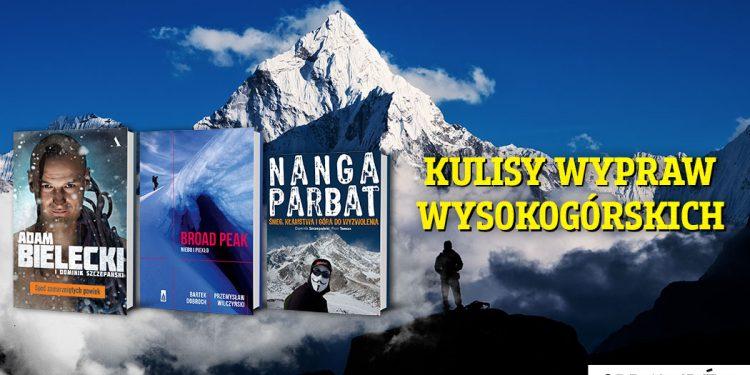 Książki o polskich himalaistach