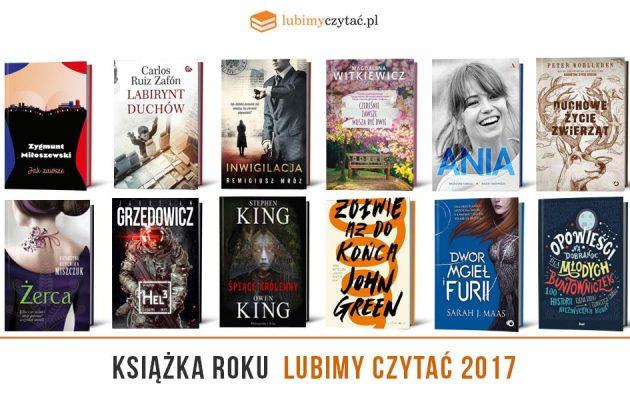 Najlepsze książki roku 2017