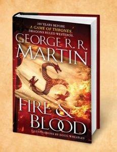 Nowa książka George'a R. R. Martina Ogień i krew!