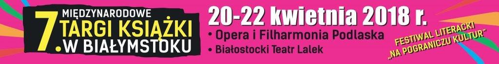 Międzynarodowe Targi Książki w Białymstoku 2018