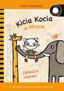 prezent na Dzień Dziecka. Kocia Kicia w Afrycie W TaniaKsiążka.pl