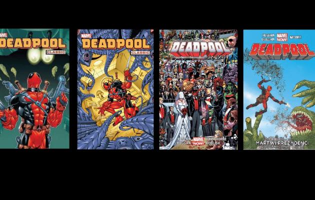 Komiksy z Deadpoolem na TaniaKsiążka.pl