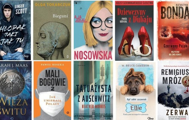Książkowe bestsellery maja 2018 w TaniaKsiążka.pl