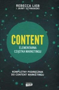 Recenzja książki CONTENT. Elementarna cząstka marketingu. Kup na TaniaKsiazka.pl