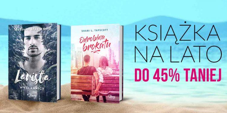 Książki na lato w gorących cenach