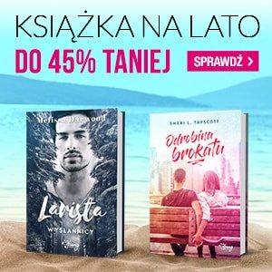 Książki na lato w gorących cenach - sprawdź ofertę na www.taniaksiazka.pl