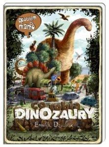 Polecamy książki o dinozaurach dla dzieci. Co robią dinozaury? Dostępna w TaniaKsiążka.pl
