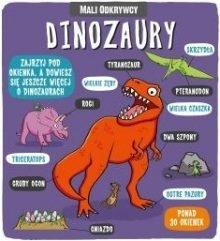 Polecamy książki o dinozaurach dla dzieci. Mali odkrywcy w TaniaKsiążka.pl