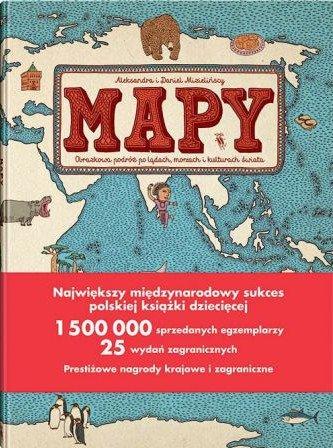 Mapy Mizielińskich - kup na TaniaKsiazka.pl