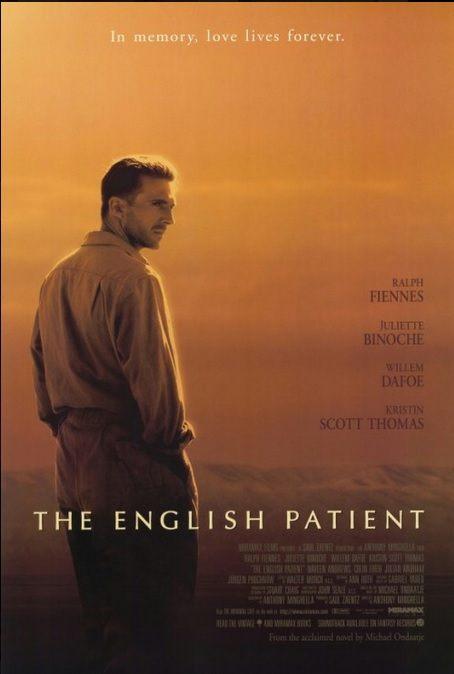 Złoty Booker dla Angielskiego pacjenta Michaela Ondaatje. Plakat filmu