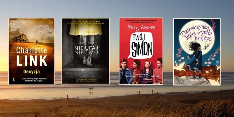 Zestawienie książek na lato. Zaczytane wakacje. Sprawdź w TaniaKsiążka.pl