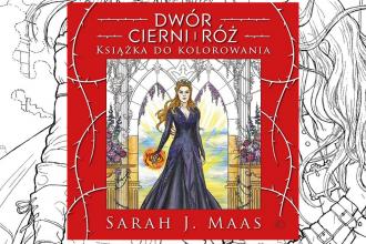 Książka do kolorowania - Dwór cierni i róż